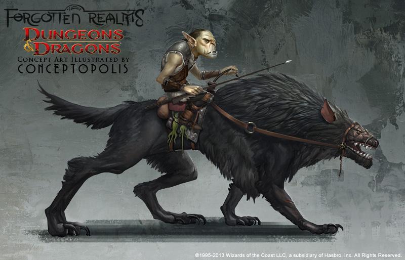 Dog Monster Worg By Conceptopolis On Deviantart