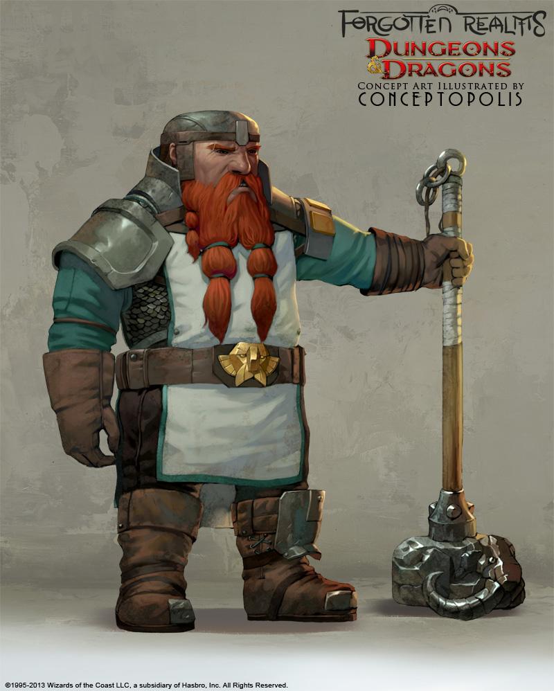 Shield Dwarf (male) by Conceptopolis