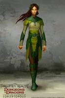 Wood Elf (female) by Conceptopolis
