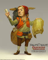 Lightfoot Halfling (Male) by Conceptopolis