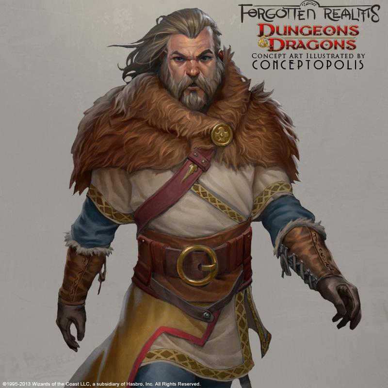 Northland Barbarian (Rustic) by Conceptopolis