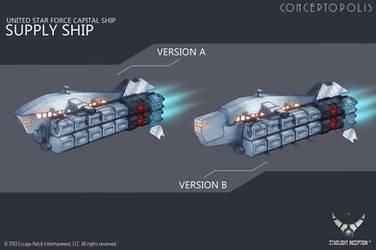 SupplyShip dev color by Conceptopolis