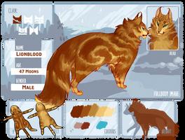 { tsf } Lionblood | ThunderClan by Tam-Felines