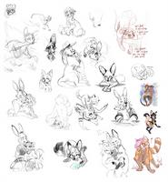 Sketch dump 3 by Ritkat