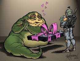 Jabba's Birthday by KurtMAndersen