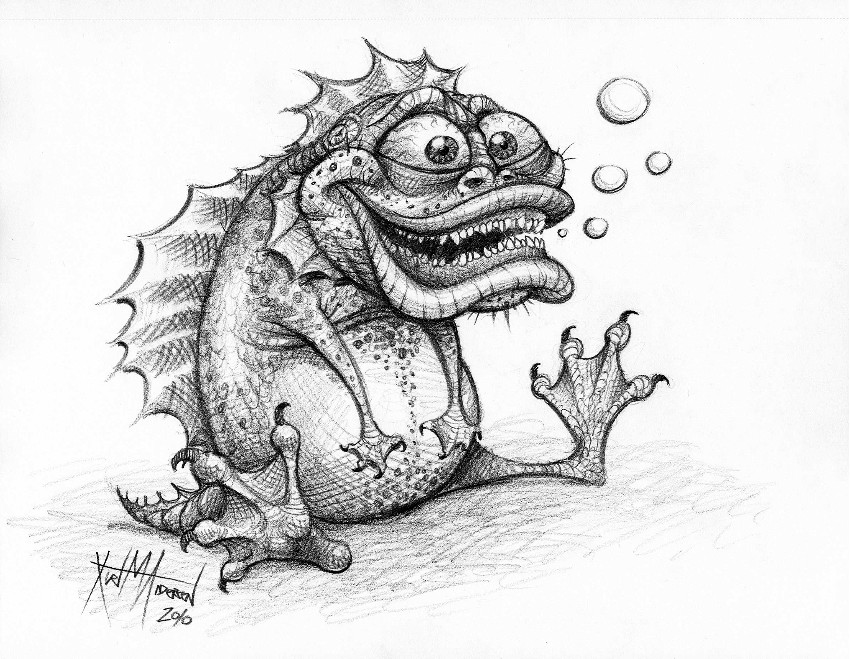The Creature by KurtMAndersen