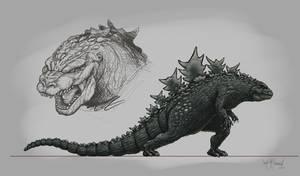 Godzilla 01 by KurtMAndersen
