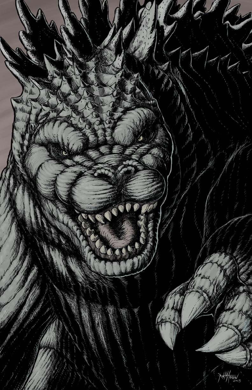 Godzilla 02 by KurtMAndersen