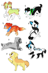 Point adoptables batch (15-50 points) OPEN