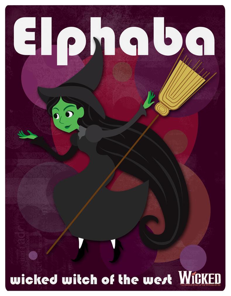 wicked witch of the west by heliofobico