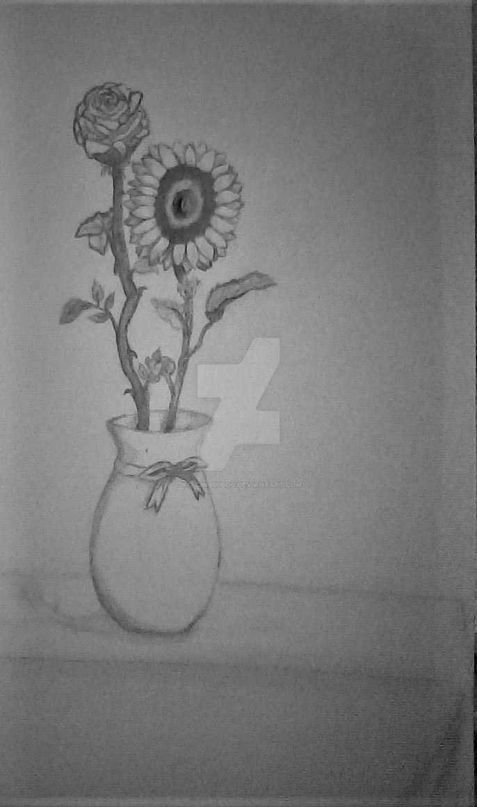 rosse and sunflower by Kitt3nB00boo