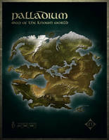 Palladium Fantasy World Map