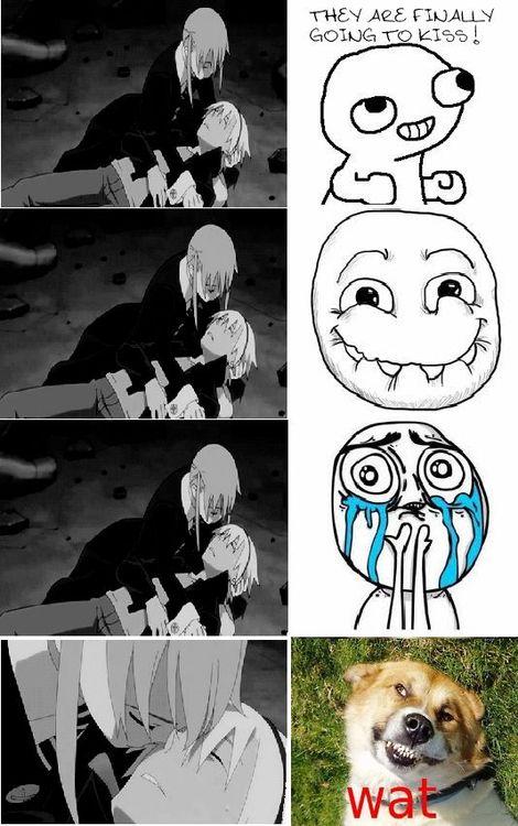 SoulxMaka meme by MakeruShion