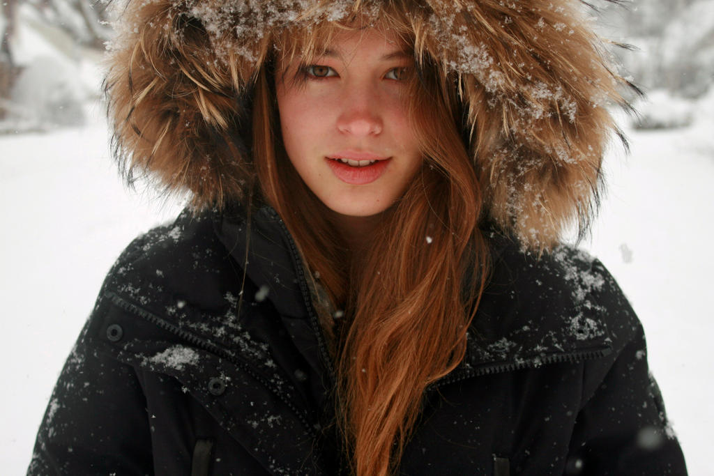 Winter Portrait by photography-lod
