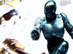 Robocop V Ironman by CharlesOsborne
