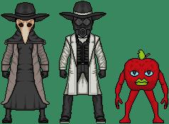 Creepypasta Micro Heroes 6 by MrEtsam