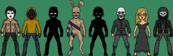 Creepypasta Micro Heroes 8 -Proxies- by MrEtsam on DeviantArt