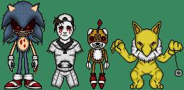 Creepypasta Micro Heroes 12 by MrEtsam