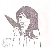 Inktober Day 31: Slice