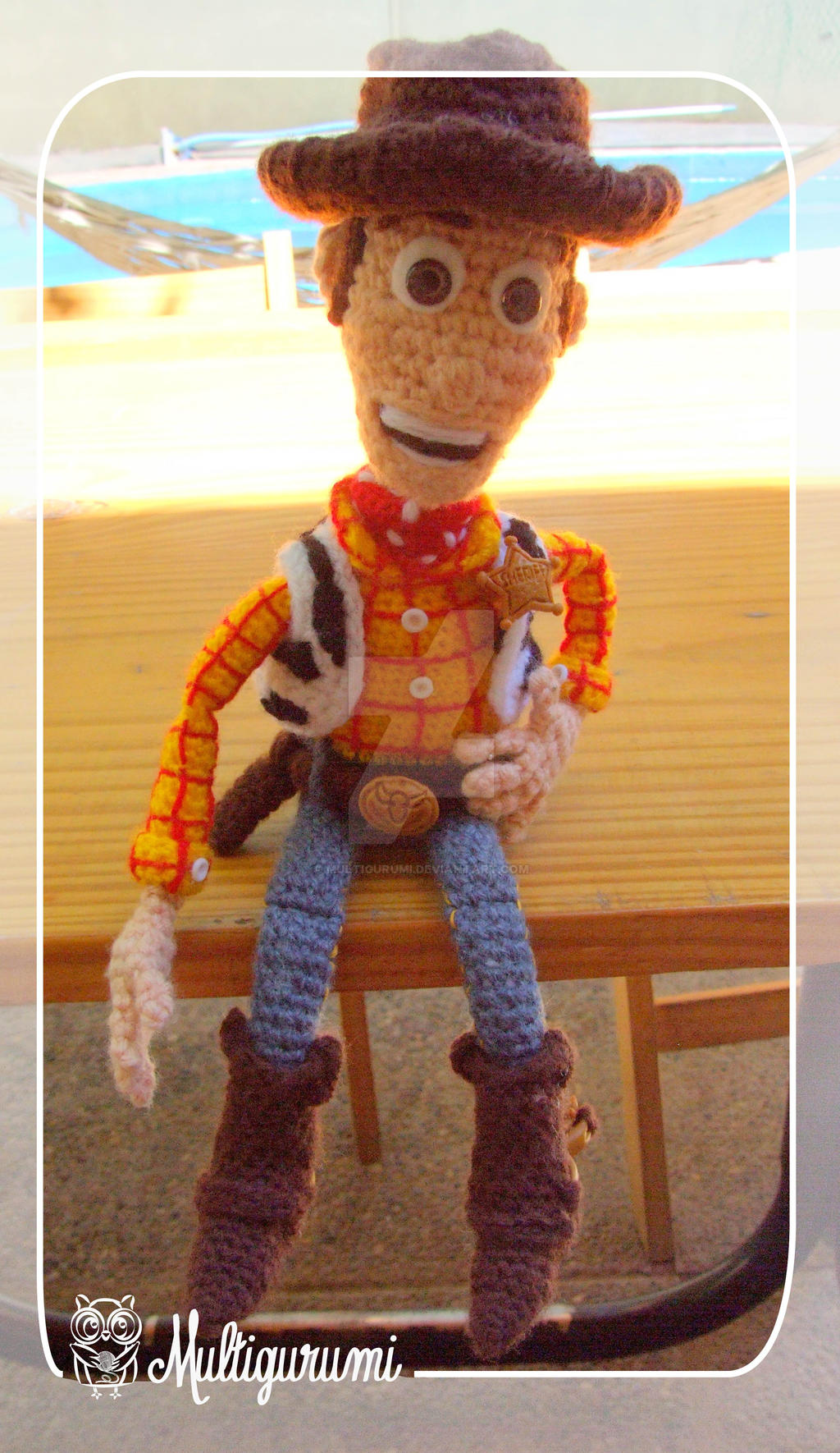Amigurumi Cowboy : Woody - Toy Story - Amigurumi by Multigurumi on DeviantArt