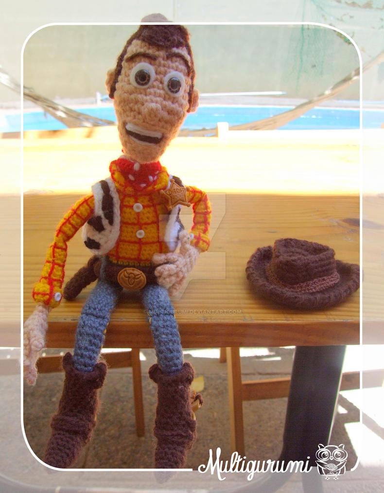Amigurumi Toy Story : Woody - Toy Story - Amigurumi by Multigurumi on DeviantArt