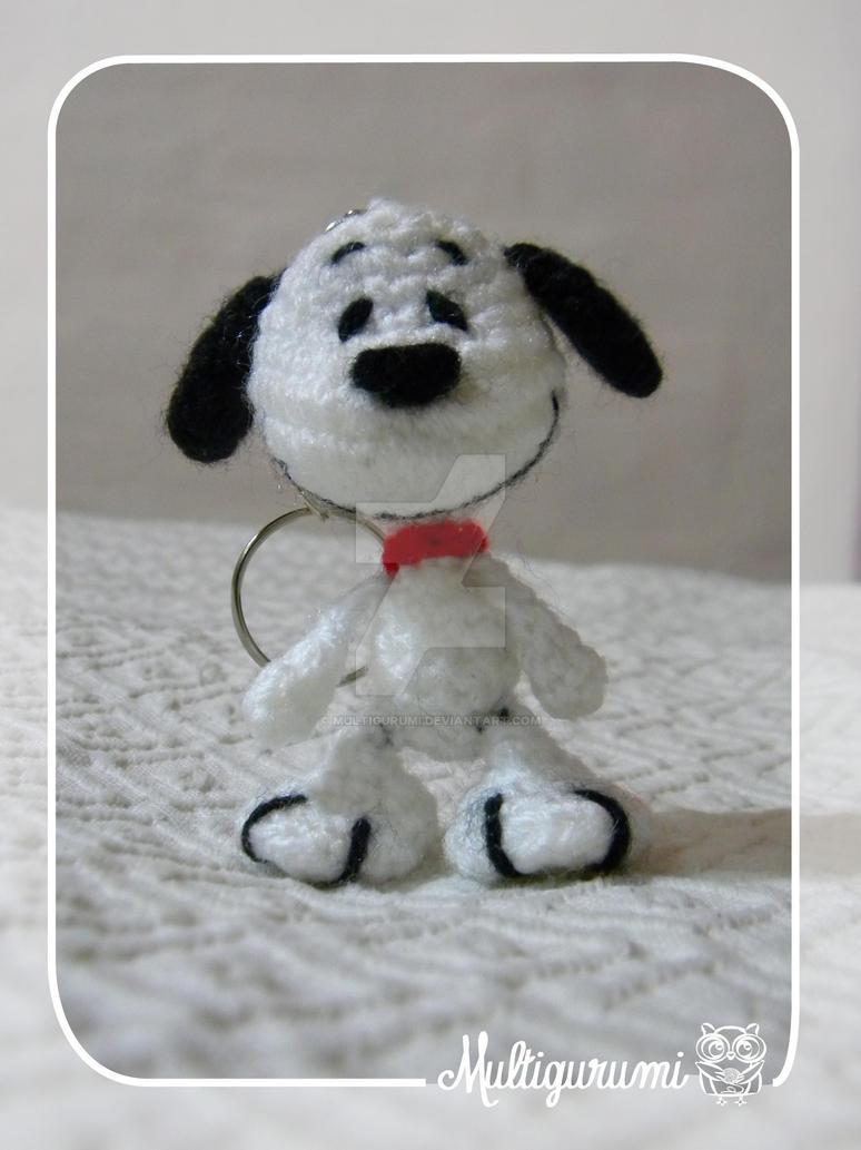 Snoopy Amigurumi Keychain by Multigurumi on DeviantArt