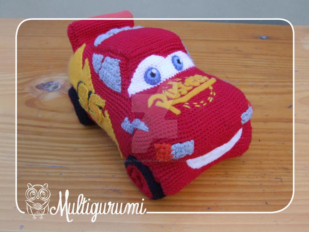 Amigurumi Crochet Patterns Dolls : Lightning McQueen Amigurumi - Cars by Multigurumi on ...