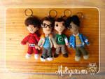 Howard, Leonard, Sheldon, Raj -The Big Bang Theory