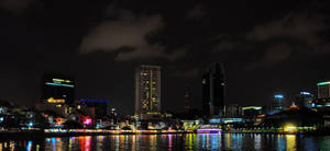 singapore night lights by flatline06