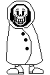 SwappedFable Papyrus Battle Sprite 1