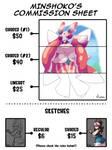 CLOSED FOR DA - Commission Sheet + info below