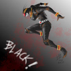 Kamen Rider Black!