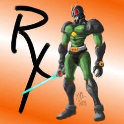 Kamen Raider Black RX by alt-L