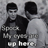 Spock Sneaks A Peek SLASH by Eitak-Monster