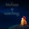 Mufasa is Watching by Eitak-Monster