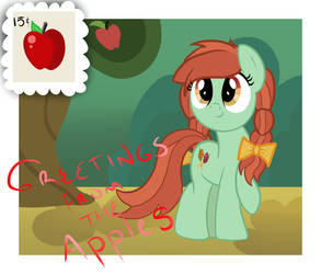 Greetings From the Apples by Melshow