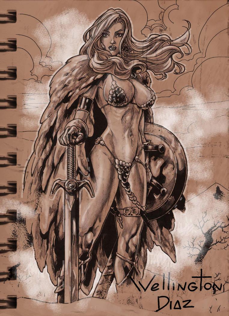 Red Sonja by WellingtonDiaz
