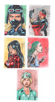 Sketch cards  G.I. Joe 03
