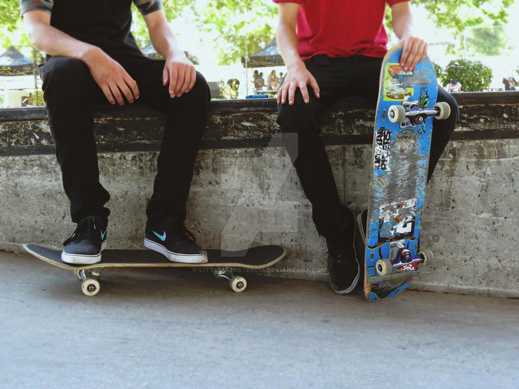 skaters by LittleMonster015