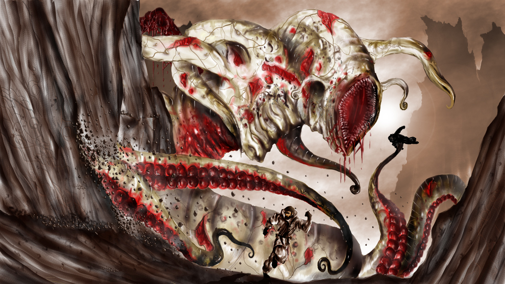 HP Lovecraft: Nyarlathotep by TJ-Ryan on DeviantArt
