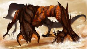 Pacific Rim Kaiju by TJ-Ryan