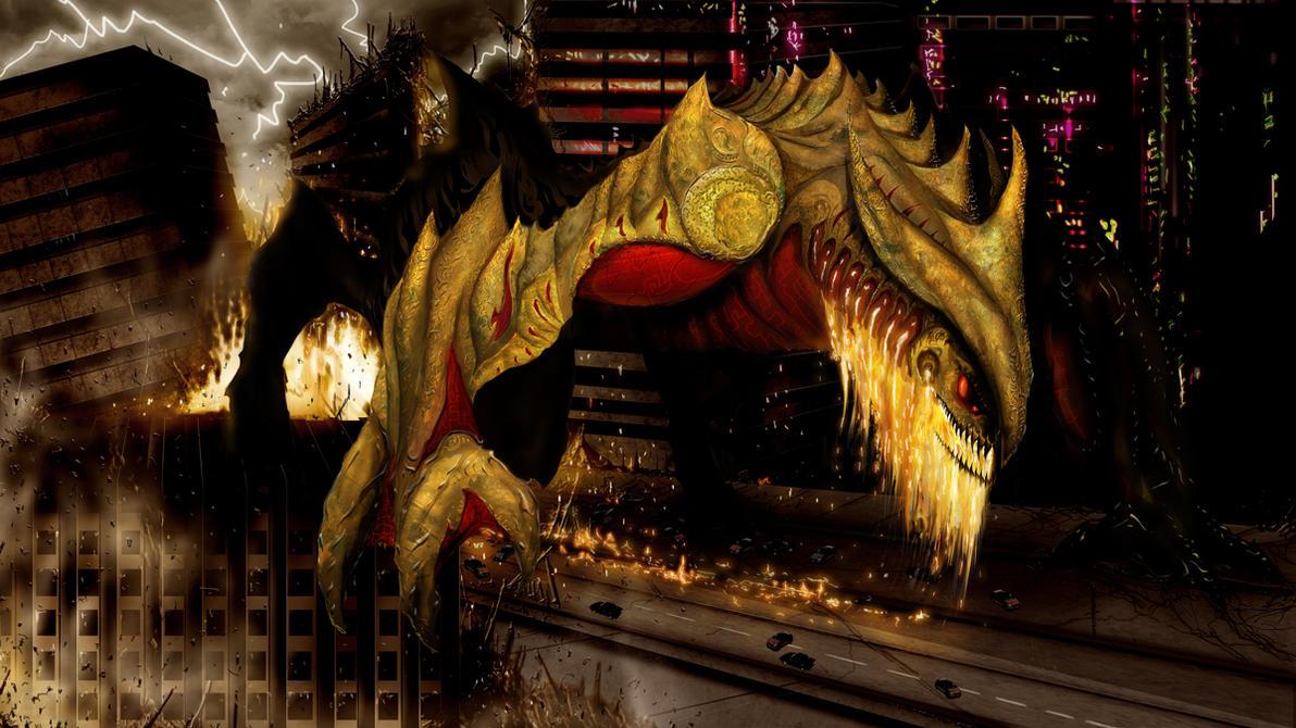 Pacific Rim Kaiju Fan Art: Stomper by TJ-Ryan on DeviantArt