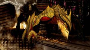 Pacific Rim Kaiju Fan Art: Stomper