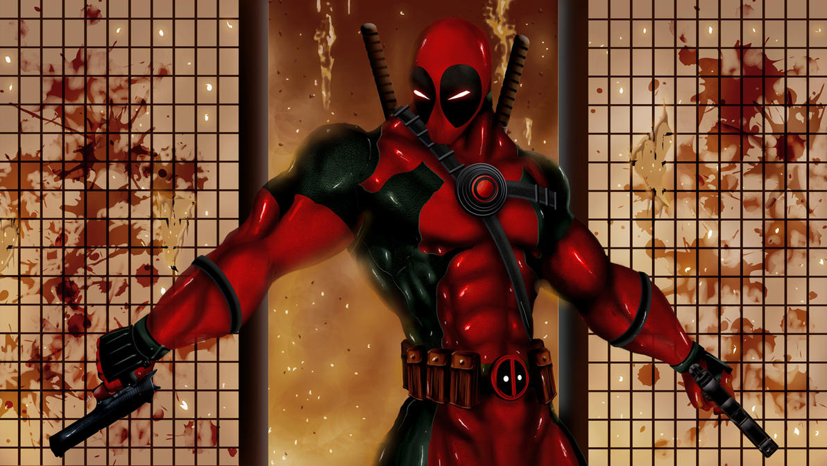 Deadpool by TJ-Ryan