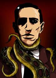 H.P. Lovecraft Portrait