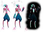 Chamba Character Design Comp  - Cherry by PKLdesigner
