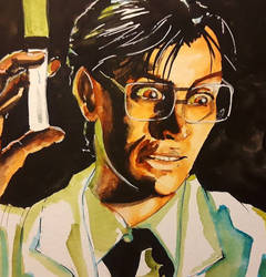 Dr. Herbert West by Jessica-Gruesome