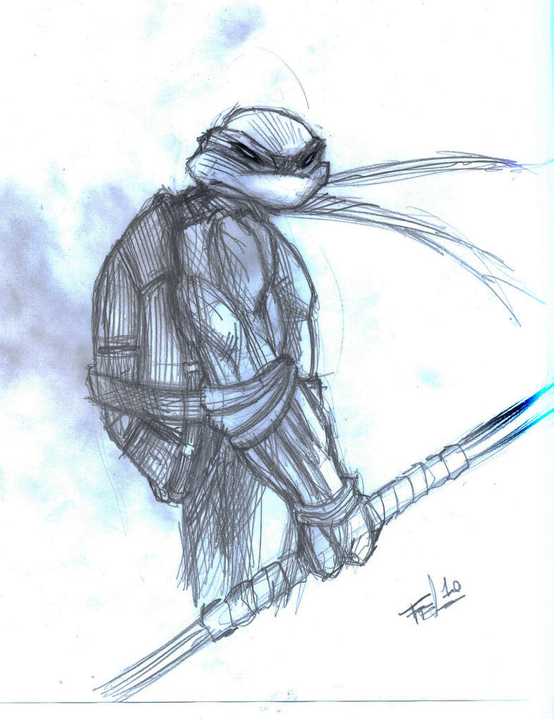Ninja Turtles - Donatello by Felipe-Rodrigues on deviantART