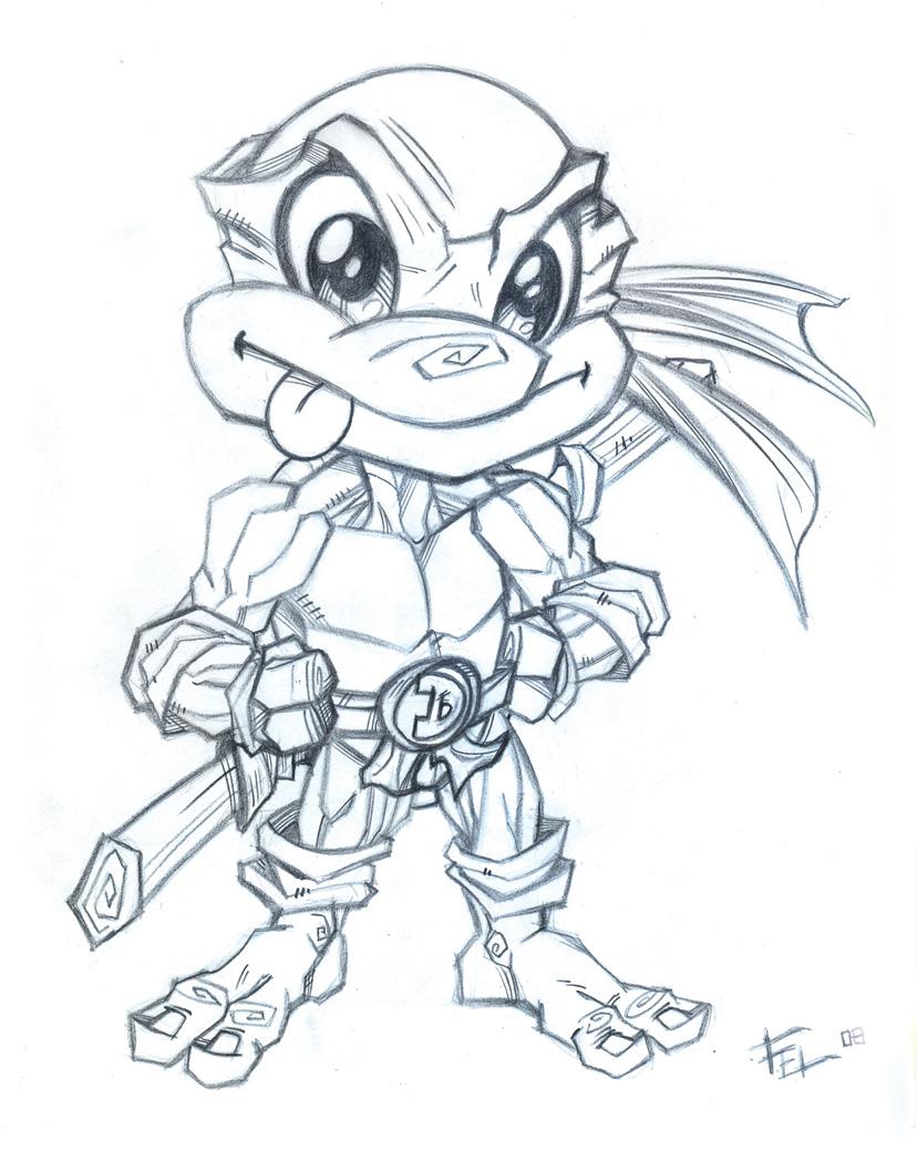 Line Art Ninja Turtles : Ninja turtles by felipe rodrigues on deviantart