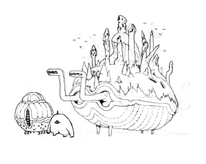 creatures 121 - 123 by lanbridge